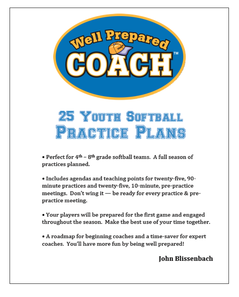 Softball Practice Plans ebook