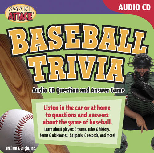 Baseball Trivia Audio CD