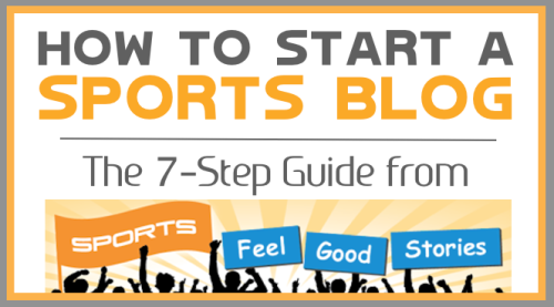 how to start a sports blog image