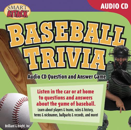 Baseball Trivia Audio CD