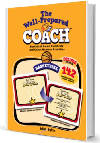 basketball award templates